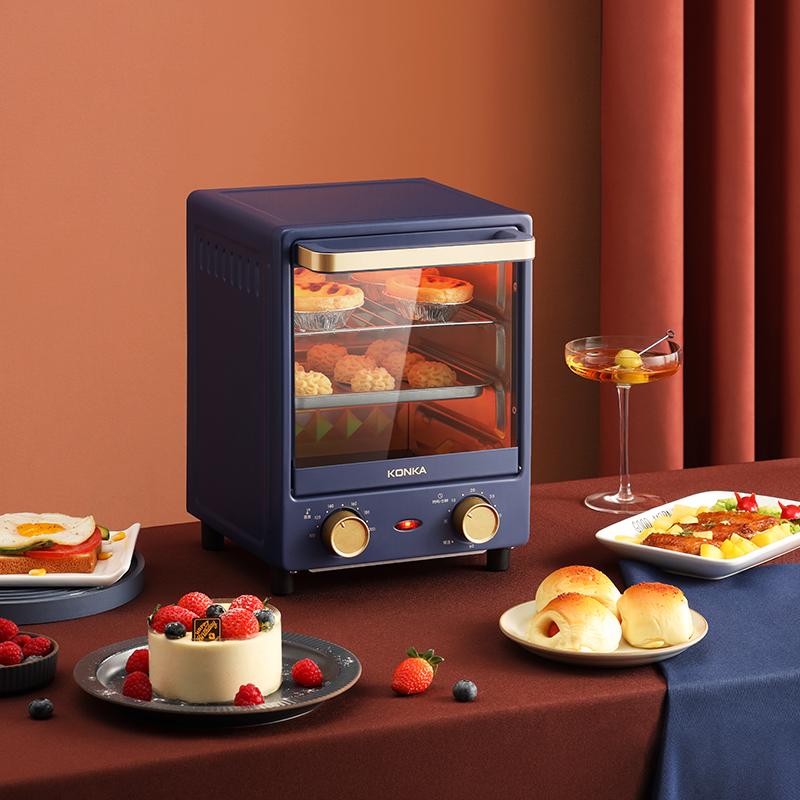 2021 Новый Электрический духовой шкаф 12L 3 слоя многофункциональная духовка для выпекания 800 Вт мини Вертикальная электрическая духовка