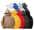 Custom High Quality cotton oversized Plain Sweatshirt Blank Sport Wear Pullover men's Hoodies