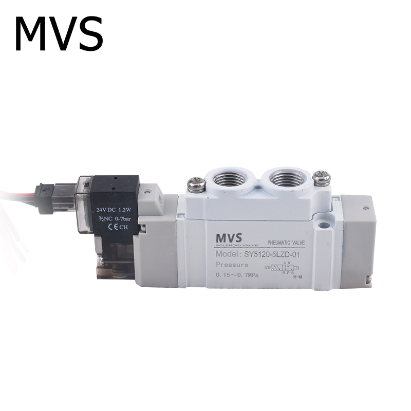 SMC type of pneumatic electromagnetic valve and suction control valve/scv and 3 way solenoid valve for OEM factory