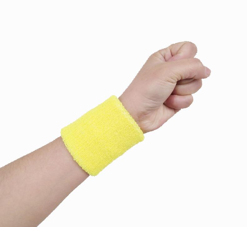 Comfortable Thick Wrist Support Sweat Elastic Wrist Towel Sports Wristband
