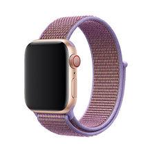 Спортивный ремешок для apple watch 5, 44 мм, 40 мм, нейлон, iwatch apple watch, ремешок 42 мм, 38 мм, ремешок iWatch series 4, 3, 2(Китай)