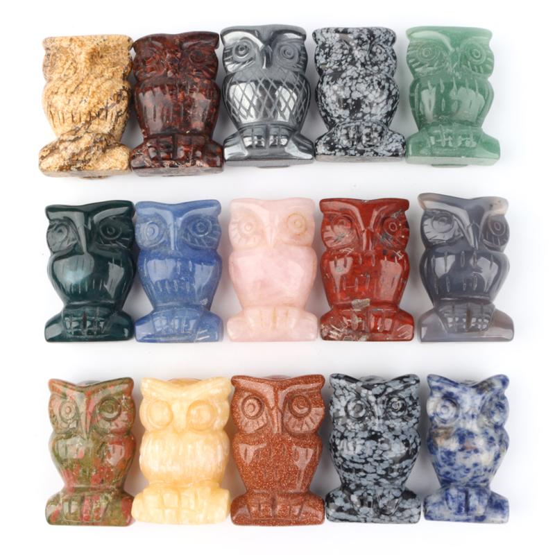 Custom crystal carvings crystal animals