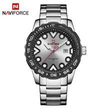 NAVIFORCE мужские часы, брендовые Роскошные спортивные водонепроницаемые светящиеся деловые кварцевые наручные часы, мужские часы, мужские час...(Китай)