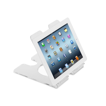Acrylic Ipads Tablet Stand Holder Wall Mounted Holder For Ipads Clear Glass Ipad Holder
