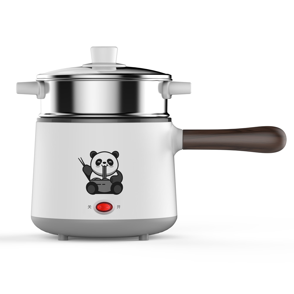 600W 1.6L Simple Function personal 304 Stainless Steel electric pot Multi Cooker