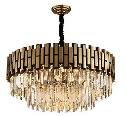 Роскошная комнатная Подвесная лампа, светодиодная Современная хрустальная люстра, светодиодное подвесное освещение, люстра с 9 лампами