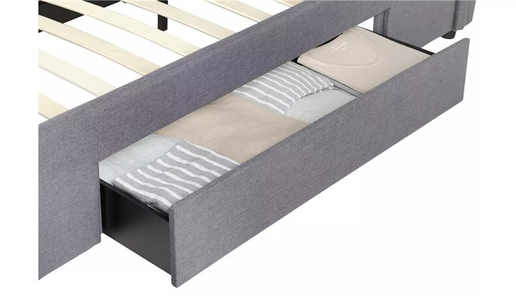 Multifunction Twin hollywood bed frame king size bed ottoman upholstery bed panel Smart Bed Frame