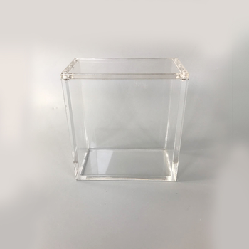 Custom Clear Acrylic Booster Box Display Custom Acrylic Display Case For Booster Box with screw or assembly closure case