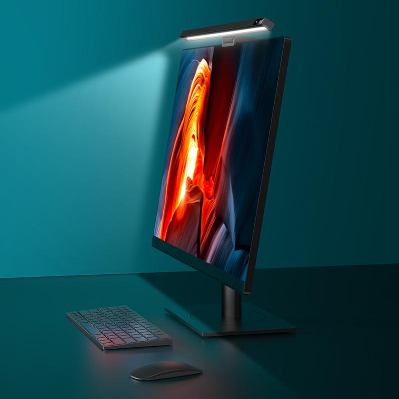USAMS Светодиодная настольная лампа для ПК, компьютера, ноутбука, экрана, бара, подвесной светильник, настольная лампа для офиса, дома, учебы, чтения, светодиодная настольная лампа