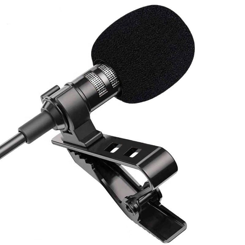 1 5 M Mini Portátil De Lavalier Micrófono Condensador Clip Micrófono De Solapa Cable Mikrofo Microfon Para Teléfono Para Pc Portátil Buy Portátil Micrófono De Solapa 1 5 M Mini Portátil De Micrófono Product On