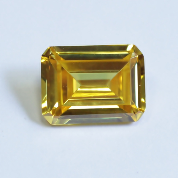 Details about  /Lot Natural Yellow Chalcedony 18X18 mm Cushion Rose Cut Loose Gemstone