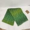 Degrade yeşil eşarp