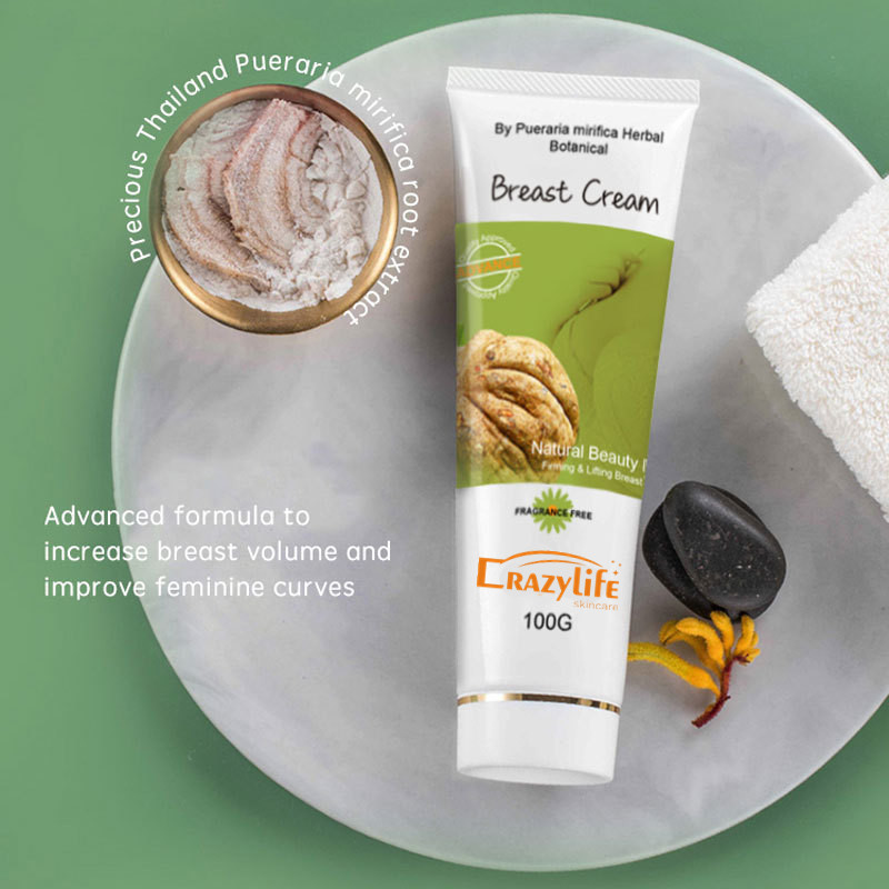 CRAZYLIFE 100% Natural Tightening Firming Big Boobs Enlargement Breast Enhancement Cream-HOT SALE- 100g/ml Sexy Big Boobs