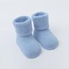 LIGHT BLUE Baby Socks