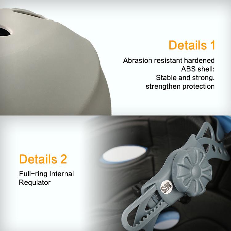 Оптовая продажа с завода, дышащий шлем для скейта из пенопласта EVA
