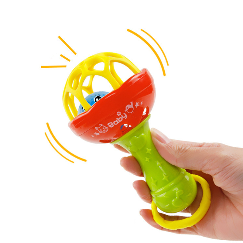 Educational Electric Bell Toys Baby Rattle Shaker With Sounds