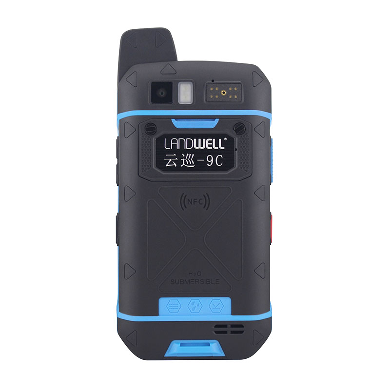 Landwell High Security IP68 NFC Guard Tour Patrol System Suppliers for Special Area with android system