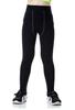 Noir pantalon mince