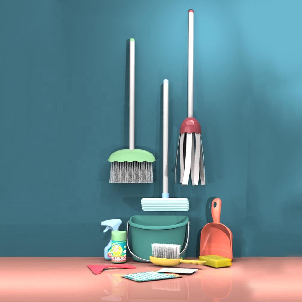 Juguetes Para Los, ролевые игры, домашние игрушки, инструменты для очистки, набор игрушек для малышей