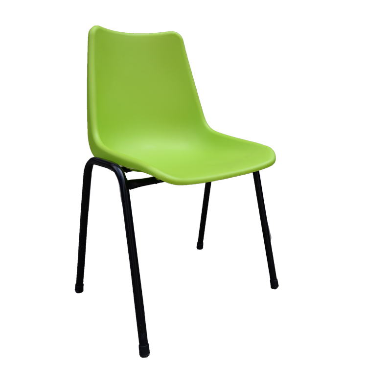 Plastic Stackable Dining Chair With Plastic Seat Metal Legs For Dining Room Buy Plastic Chair Plastic Dining Chair Plastic Chairs With Metal Leg Product On Alibaba Com