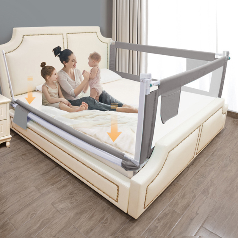 Прямая поставка с завода Регулируемая Защитная направляющая для детской кровати