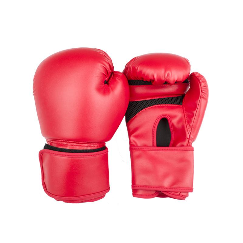 Boxing Gloves Fight MMA Sanda Training Adults Kids Equipment Muay Thai Karate