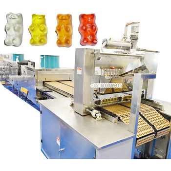 CLM300 Automatic CBD/Vitamin/Hemp Gummies Candy Depositor Machine/Soft Jelly Candy Production Line