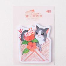 30 шт./упак. Kawaii Cat бумаги для заметок на клейкой основе Dcoration корейский планировщик блокнот для заметок на клейкой основе Канцелярские Дети ...(Китай)