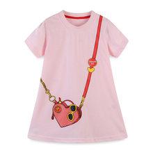Детское платье с отложным воротником Little maven, модные вечерние платья с единорогом для девочек ясельного возраста, 2020(Китай)