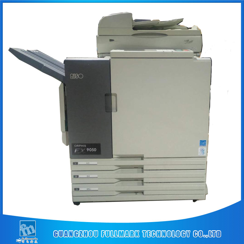 used risos inkjet printer EX9050 risographs comcolor photocopier printing machine
