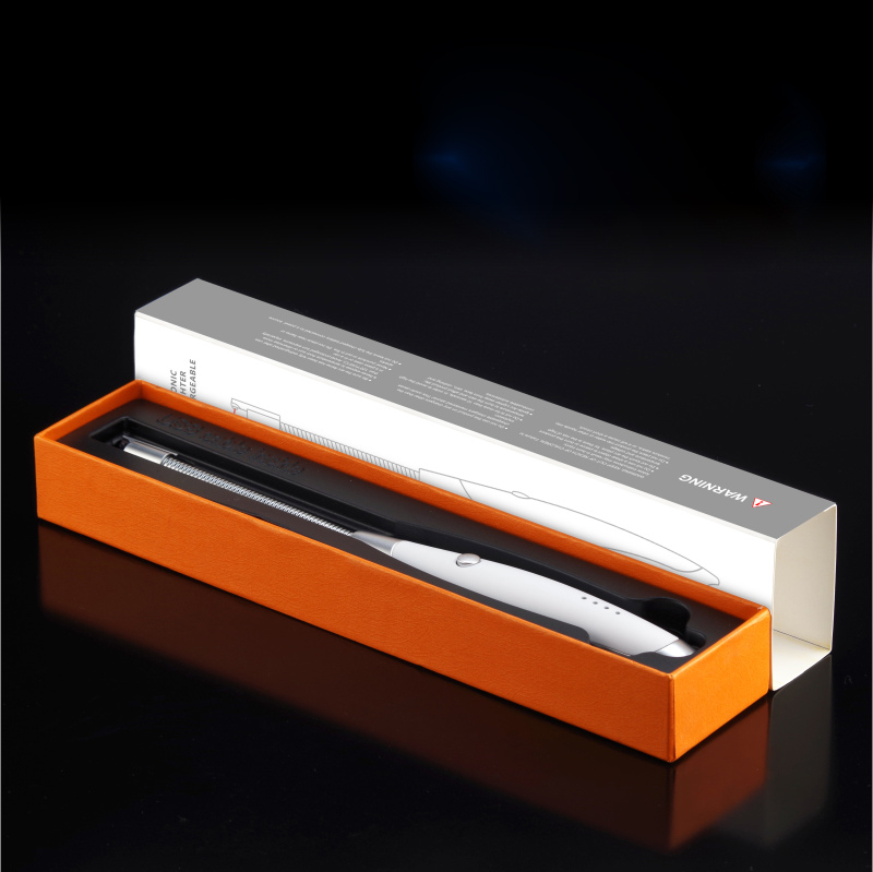 FREE SAMPLE LED Battery Indicator FR-910 New USB Charging BBQ Candle Lighter Arc Kitchen Lighter