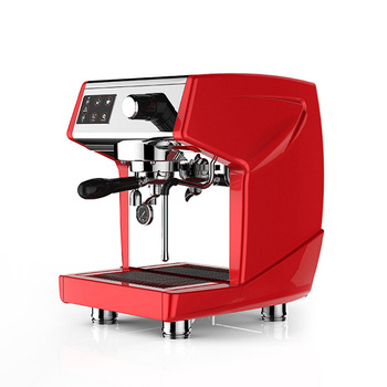 Fully automatic cafe using commercial espresso coffee machine