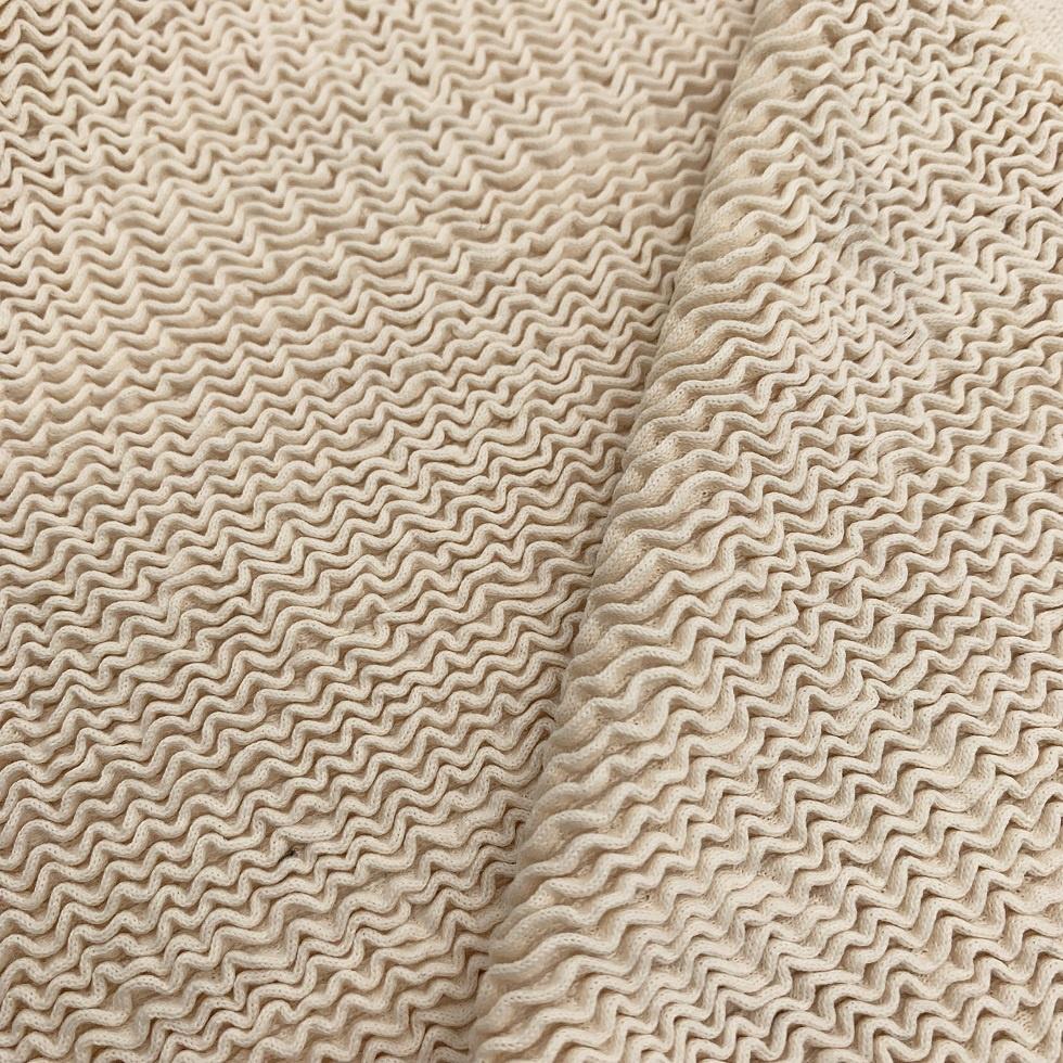 Popular crinkle seersucker jacquard nylon spandex fabric for swimwear dress customized color