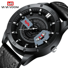 Men Military Sports Watches Men's Quartz Date Clock Man Casual Leather Wrist Watch
