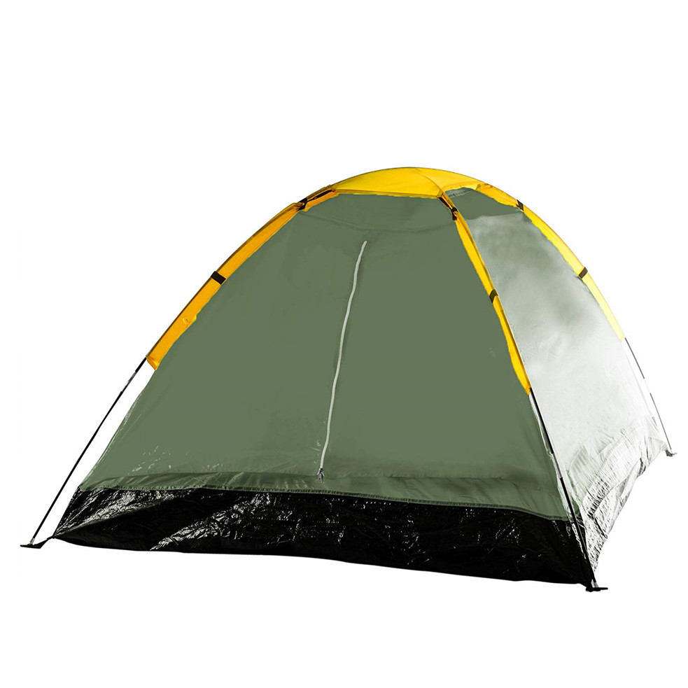Family outdoor swag large canvas folding camping tent