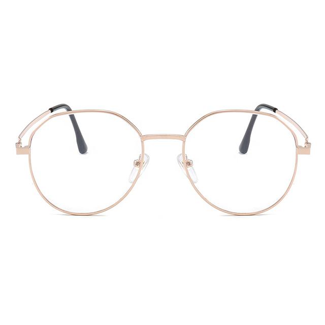 China Wholesale Protection round metal frame fashion eyewear 1.0 to -6.0 1.5 myopia glasses prescription glasses
