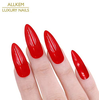 red long stiletto