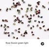 rose illusion gree light
