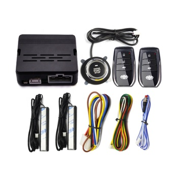 Manufacturer Universal PKE car security alarm push button start stop system for Toyota series