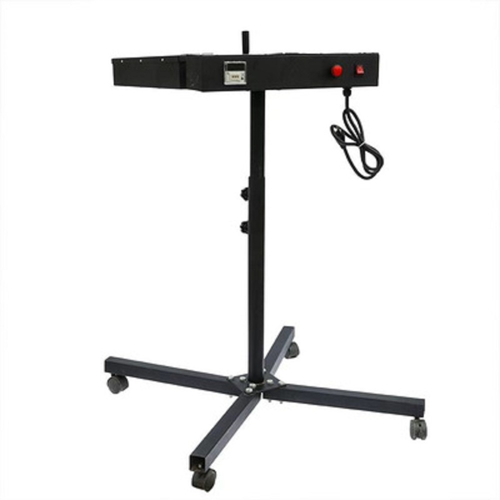 Economical movable infrared screen printing flash dryer for t-shirt automatic controller sensor dryer