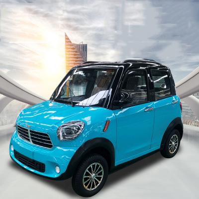 EBU 2021 Left / right rudder NEW Hybrid Power Professional Cheap 4 Wheels 4 Seat 5 Doors Electric Car Solar Car