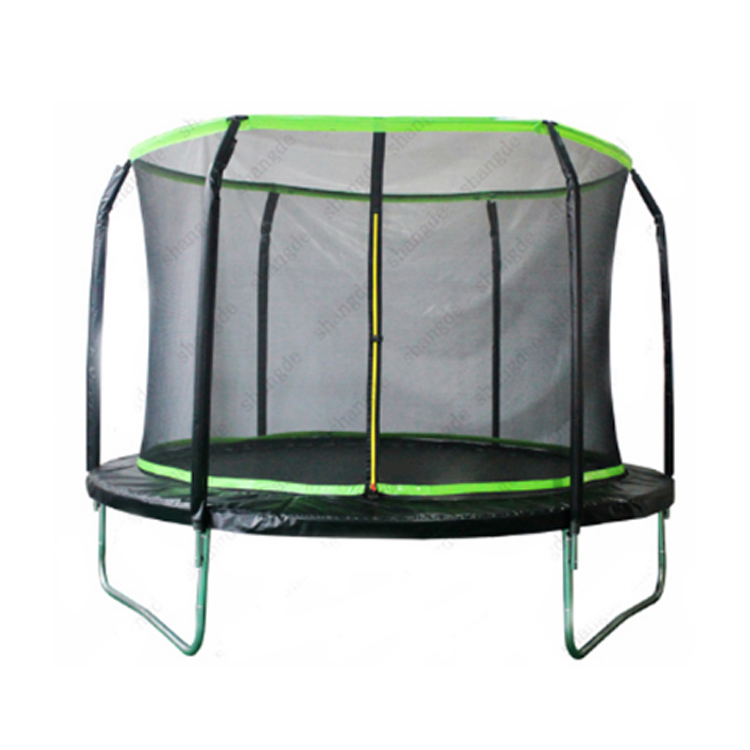 Sundow 10ft big trampoline with safety enclosure