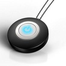 Носимый очиститель воздуха ожерелье Мини Портативный USB очиститель воздуха генератор отрицательных ионов низкий уровень шума освежитель в...(Китай)