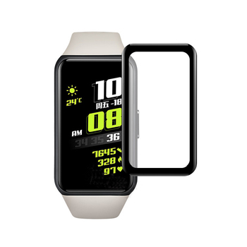 PMMA PC Combined 3D Curved soft screen protector for Huawei Honor Band 6