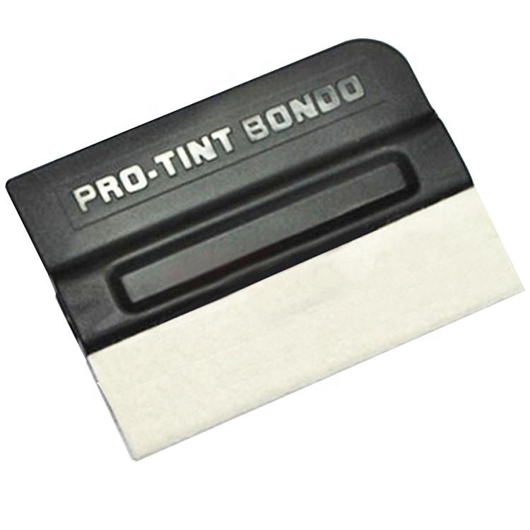 Оптовая продажа, шерстяной Магнитный скребок для окон, оттенок стекла, Виниловый держатель для обертывания, профессиональный оттенок, скребок для Бондо, наклейка, скребок