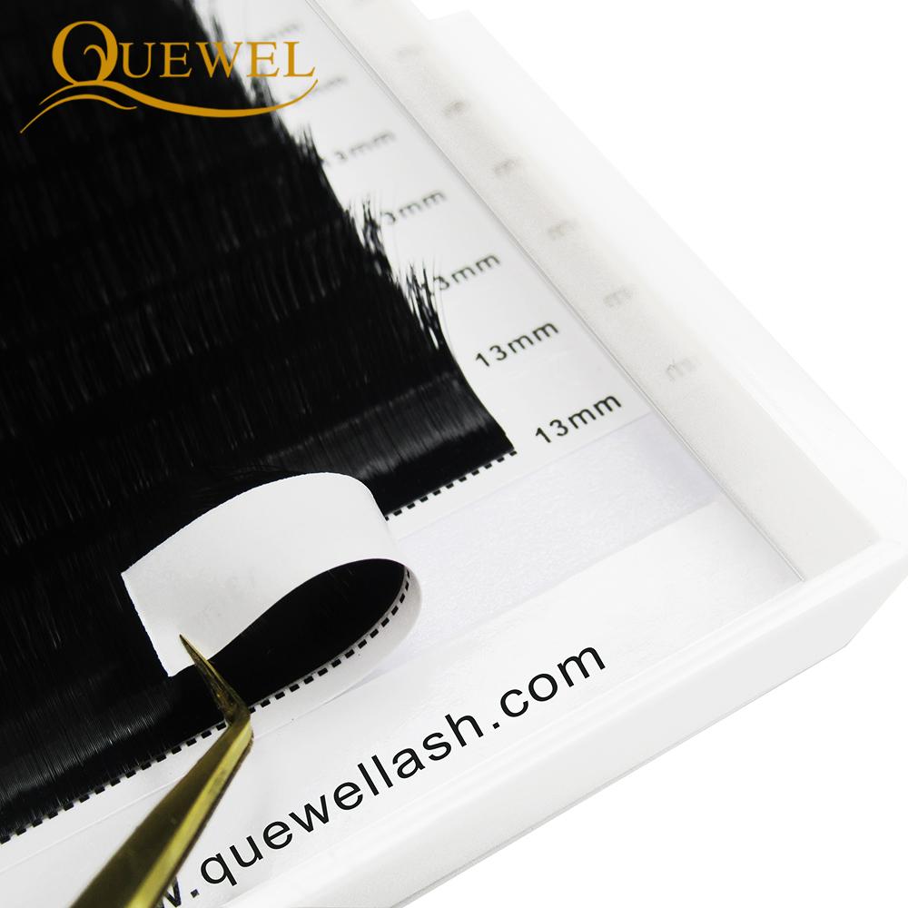 Wholesale Quewel Best Individual Eyelashes High Quality Semi Permanent Eyelash Extension Individual Mink Lash Extensions