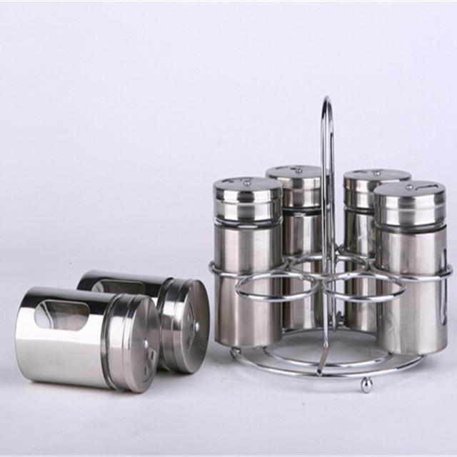 Энергетическая герметичная железная Крытая стеклянная банка для хранения еды setCoal