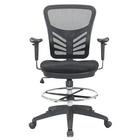 Drafting Chair Drafting Chair High Swivel Mesh Drafting Office Chair With Adjustable Arms