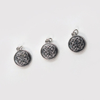 Celtic Silver Celtic Celtic Antique Silver Zinc Alloy Charm For DIY Jewelry Making 15mm