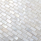 Mother Of Pearl Shell Tile Price For China Mosaic Tiles China Natural White Color Mother Of Pearl Brick Shell Wall Mosaic Tile For Hotel Background Wall